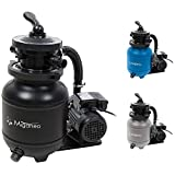 Miganeo 40385 Sandfilteranlage Dynamic 6500 Pumpleistung 4,5m³ blau, grau,...
