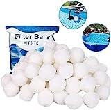 Aitsite Filterbälle 1300g 14.8 Liter Filter Balls (mit Wäschenetze) ersetzen...