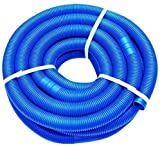 well2wellness® Poolschlauch 38mm - Blauer Schwimmbadschlauch - 6 Meter