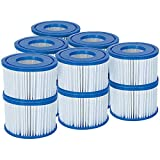 Bestway Filter Cartridge VI für Miami, Vegas, Monaco Lay-Z-Spa 58323- 6er Twin...