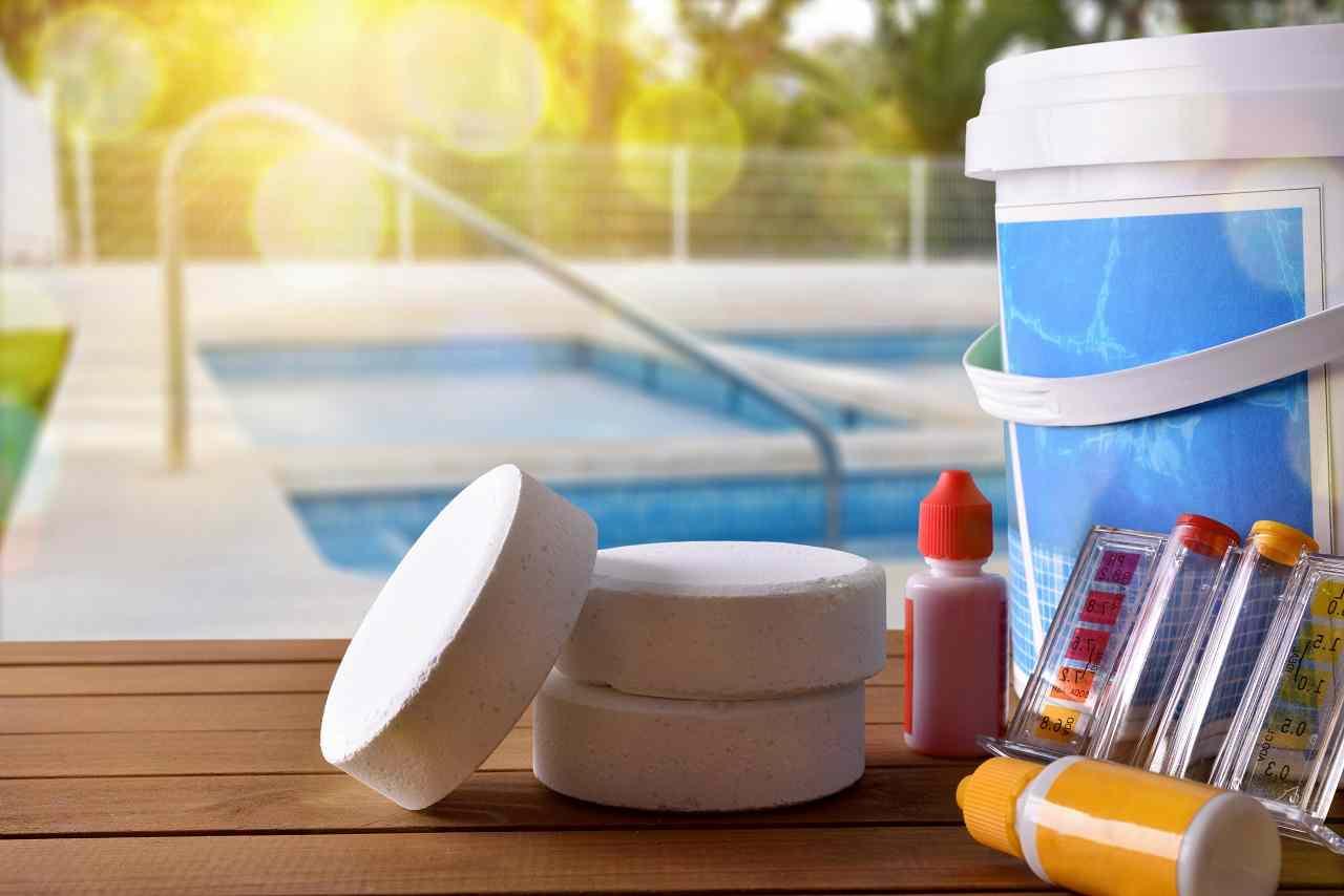 pH-wert im Pool zu hoch