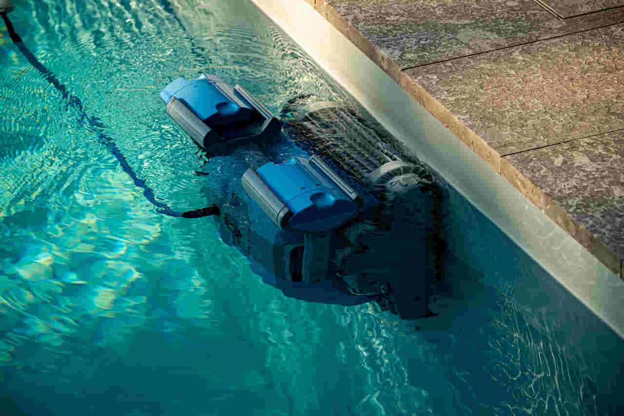 Poolroboter für Folienbecken
